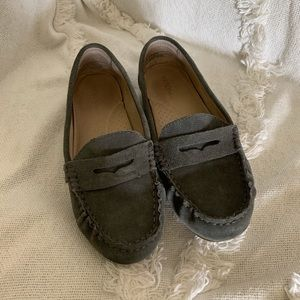 Merona Grey Suede Loafers Size 6